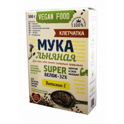 Мука льняная «Vegan Food» Клетчатка